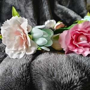 Icing Accessories - Floral and seashell headband 4d0b3c072d1